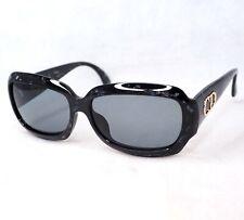 Christian Dior sunglasses 2975 vintage marble black gold large CD logo women