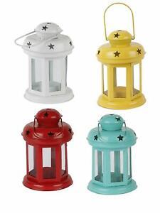 Set of 4 Lantern Decoration Hanging Lanterns for Home Decoration Light Holder