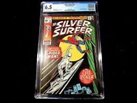Silver Surfer #v1 #14 - CGC 6.5 Lee & Buscema Classic! Spiderman!