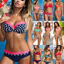 SEXY Women Push Up Bikini Set Bra Padded Swimwear Swimsuit Bathing Suit TOP
