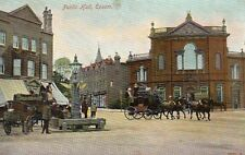 Public Hall - EPSOM - Surrey - 1906 Original Postcard by Hartmann (1.96)
