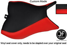BLACK & RED VINYL CUSTOM FITS HONDA CB 1000 R 08-13 FRONT RIDER SEAT COVER ONLY