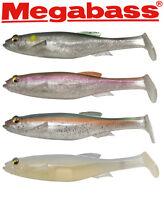 "Megabass Magdraft Soft Body Swimbait 10"" - 6 oz.  Japanese Trophy Bass Swimbait"