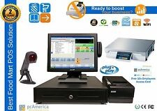 All In One Touch Screen Pos Complete System,Pc America Cre with Weight Scale