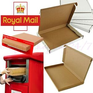 Royal Mail PIP Large Letter Eco Friendly Cardboard Postal Mailing Box C4 C5 C6