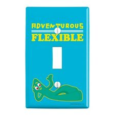 Adventurous and Flexible Gumby Wall Light Switch Plate Cover
