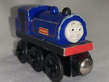 f- 1 Thomas Wood Wilbert Train Engine Wooden Train Railroad Purple Blue Red