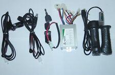 Electric Scooter 36V 800W Brushed Controller &36V Throttle &Brake Lever &Switch