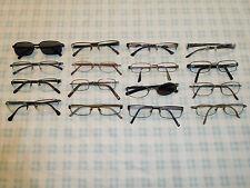 Lot 16 Rectangular Eyeglasses Sunglasses Frame Men Sterling Luxottica Puma 1