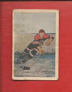 1952-53  PARKHURST   # 37   GUS BODNAR   Chicago Black Hawks   Very Good
