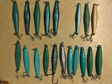 Lot of Salas 7x saltwater fishing jigs surface iron