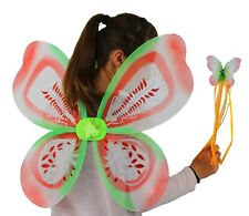Fairy Wing and Wand Set- Acorn Design Adults/children large butterfly wings