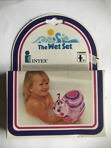 Vintage The Wet Set Inflatable Soft Lady Bug Puff n Play by Intex NIB 58590