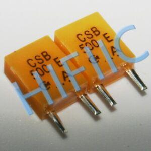 5PCS Murata CSB500E 500kHz Ceramic Resonator