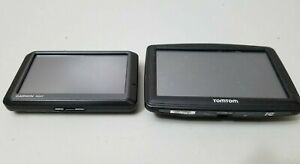 Lot of (2) Vehicle Car GPS Units Garmin Nuvi 255W TomTom Start *UNTESTED*
