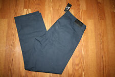 NWT Mens Calvin Klein Navy Lifestyle Straight Casual Slacks Pants 34 W 30 L