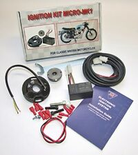 Wassell 12V Electronic Ignition System - Single & Twins - Unit with Side Points