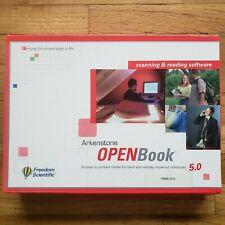 Freedom Scientific Openbook 5.0 Scanning and Reading Software Arkenstone