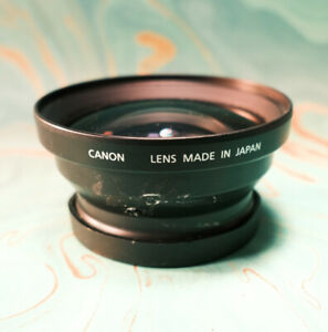 Canon Wide Converter WC-DC58 0.8x Lens Adaptor For Canon G1 and G2