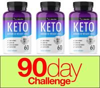 QFL Keto BHB-800mg Best Weight Loss Fat Burner Supplement-180 Capsules