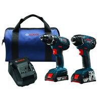 Bosch 18V Li-Ion Impact Driver & Drill Combo Kit CLPK232A-181-RT Reconditioned