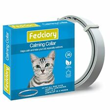 Fedciory Calming Collar for Cats, Adjustable Relieve Reduce Anxiety Pheromone Yo