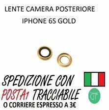 VETRO LENTE CAMERA POSTERIORE PER IPHONE 6S GOLD