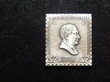 .999 Silver United States Postage 2 Dollars! Bb491Qdc