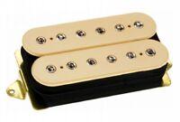 DiMarzio DP104 Super 2 Hot Humbucker Distortion Ceramic Guitar Pickup, Cream