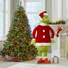 Plüsch Grinch60cm Weihnachten Deko Figur Xmas Plüschtier Kuscheltier für Kinder
