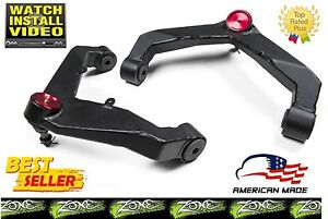 Zone C2300 Upper Control Arms Lift Kit for 2001-2010 Chevy GMC 2500HD/3500HD HD