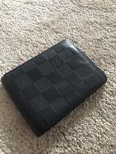 Louis Vuitton tipo billetera de Bolsillo Organizador Soporte de tarjeta cartera 100% Auténtico
