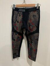 Nike Jordan Training Compression Leggings Capri 3/4 Boys Size XL Dri Fit