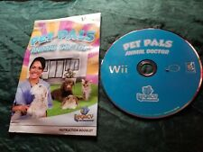 ORIGINAL Pet Pals: Animal Doctor (Nintendo Wii, 2008) Video Game Disc Only.