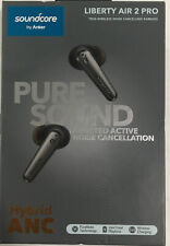 ANKER SOUNDCORE LIBERTY AIR 2 PRO IN EAR ONLY EARBUDS BLACK BRAND NEW IN BOX