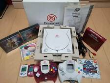 SEGA DreamCast Console with 2 Controller,2 VMU,Cables + 6 games Tested Working