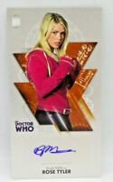 2010 Topps Doctor Who The Tenth Doctor Billie Piper Rose Tyler 24/25 Autograph