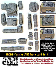1/35 Scale WW2 North African LRDG Truck Load (Tamiya Chevrolet 30cwt) #1