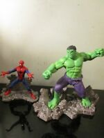 Schleich Marvel Hulk SPIDERMAN LOT Diorama Character Action Figure Statue