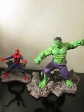Schleich Marvel Hulk SPIDERMAN LOT Diorama Character Action Figure Statue