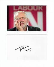 More details for labour party jeremy corbyn genuine authentic autograph signature aftal coa