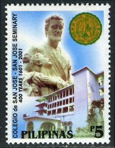Philippines 2744,MI 3275,MNH.Colegio de San Jose &San jose Seminary, 2001