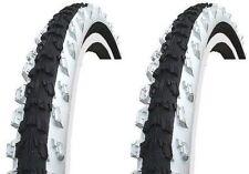 """2x Kenda 24"""" Fahrradreifen K-829, 24""""x1,95 (50-507) schwarz/weiß für CUBE Räder"""