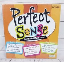 New Perfect Sense Board Game of Riddles Patch Products Brain Teasers Family nib