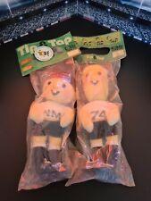 Fifa Wk voetbal 1974 mascot mascotte maskottchen tip und tap in ovp! Verry rare!