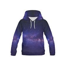 New Nain Purple Space Galaxy Hoodie Xxl/Xxxl 3D Design Unisex $49.95
