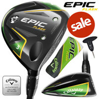 Callaway Epic Flash Adjustable Fairway Woods (Inc H/Cover) - NEW! 2020 *REDUCED*