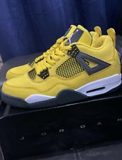 Nike Air Jordan 4 IV Retro LS Lightning Thunder  314254-702 Size 11 US