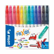 Pilot Frixion Colors Erasable Fibre Tip Colouring Pens | 12 Pack Assorted Colour