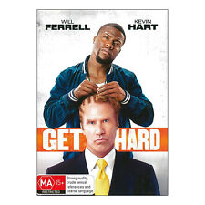 Get Hard DVD PAL New - Comedy, 96 Mins, (MA15+) Will Ferrell